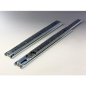 Ball Bearing Drawer Slide  43mm W. Detent In Type