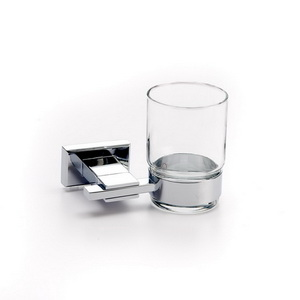 Toothbrush Tumbler Holder With Glass