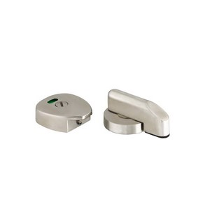 Stainless Steel Toilet Door Indicator turn Lock