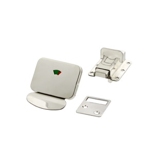 Stainless Steel Cubical Door Slide Latch with Indicator