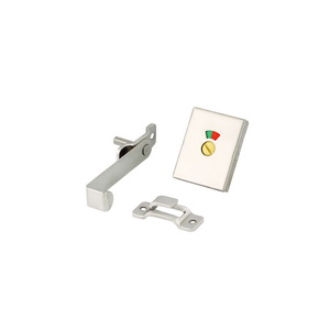 Cubical Partition Sliding Door Latch with Indicator