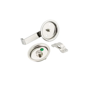 Cubical Partition Sliding Door Recess Latch with Indication.