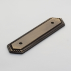 Solid Brass Backplate