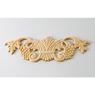 White Wood Applique