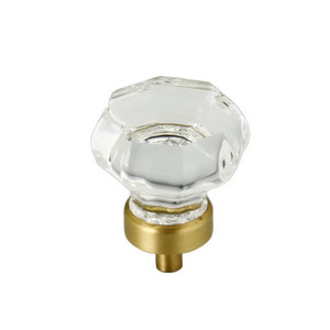 Glass Octagon Knob