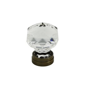 Diamond Shape Glass Cabinet Knob