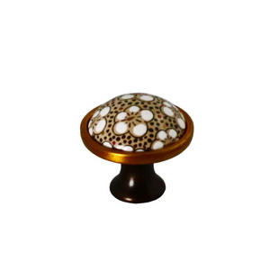 Round Ceramic Furniture Knob