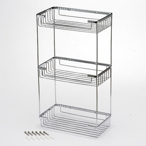 Wire Triple Shelf Basket