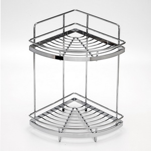 Corner Basket Shelf