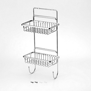 Wire Double Shelf Basket