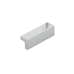 Aluminum Drawer Pull  - Chrome Plated Cathodized