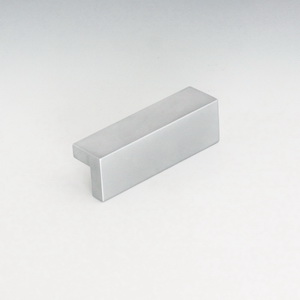 Aluminum Drawer Pull  - Anodized Satin Silver